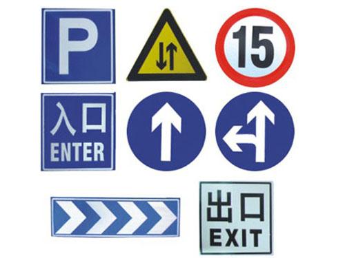 东莞公路标志牌制作厂家,南城交通标识牌加工,万江龙门架大型标志牌安装
