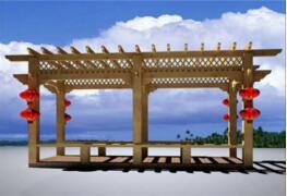 环翠区泛海居防腐木材经销处的威海防腐木