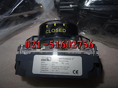 KSB 42057958回讯器,AMTROBOX C限位开关盒