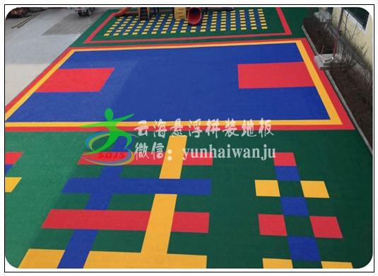 贵州悬浮拼装地板厂家批发  价格实惠  云南湖南广西幼儿园篮球场专用