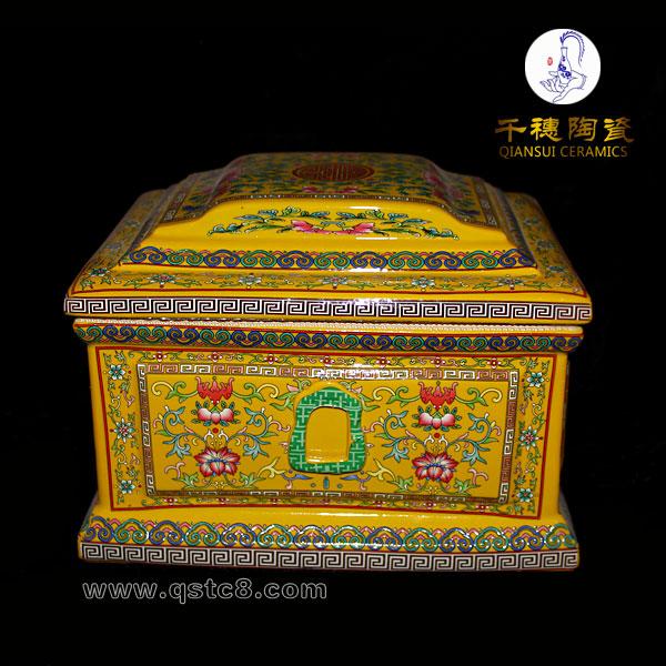 陶瓷骨灰盒图片