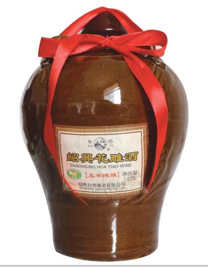 绍兴花雕酒 五年陈酿1.625L