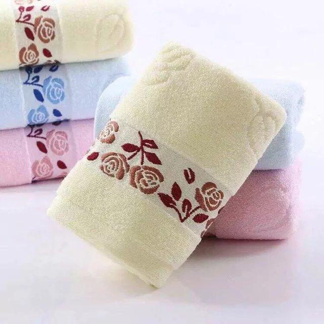 厂家直销纯棉素色宽锻毛巾 广告礼品毛巾批发