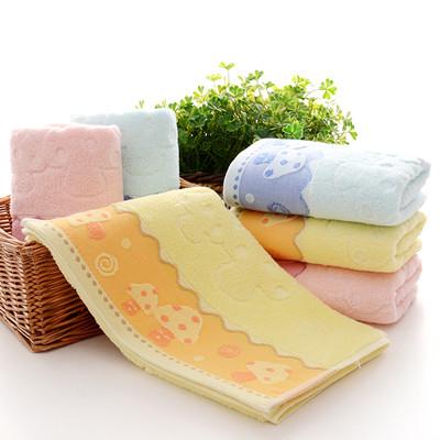 厂家直销纯棉毛巾 广告礼品毛巾可定制LOGO
