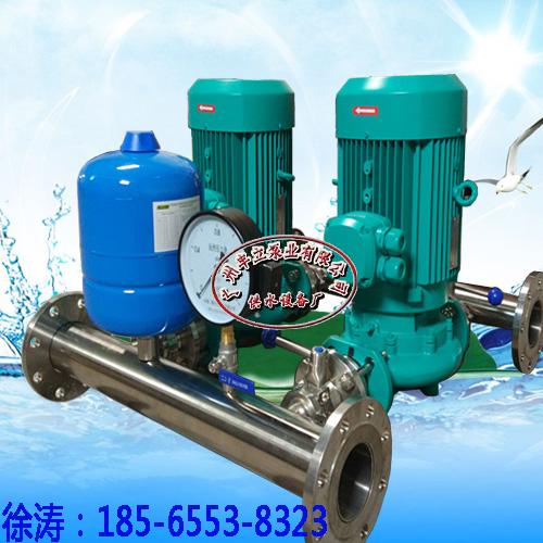 厂家直供 BWS全自动管道增压设备,高楼层二次供水设备,变频水泵