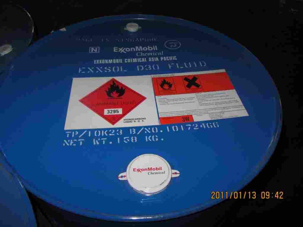美孚 脱芳烃溶剂油 Exxsol D30