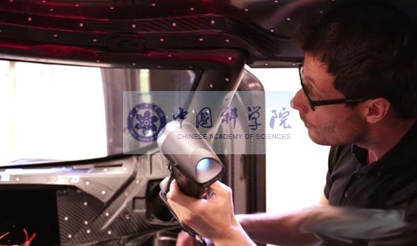 汽车仪表盘三维扫描应用解决方案手持式三维扫描仪中科院