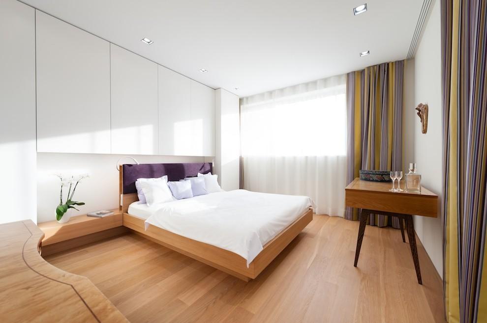 成都小蜗置家北欧全实木床简约现代主卧室环保家具白橡木双人床