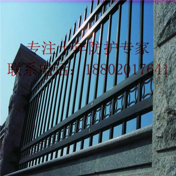 孝感组装式栅栏批发 荆州围墙护栏供应 黄石酒店围栏现货