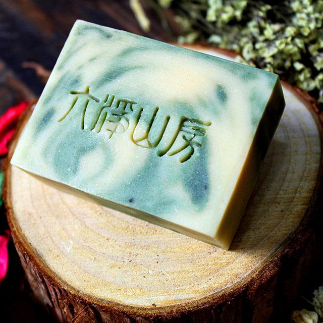六净山房 柠檬艾草羊奶冷制手工皂