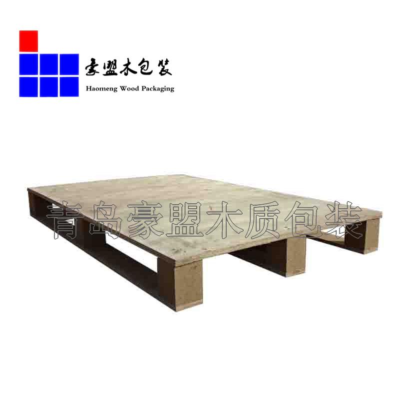 木托盘单面免熏蒸黄岛厂家直销质优价廉