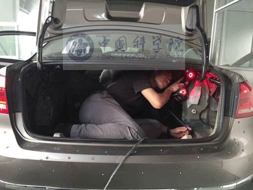 汽车后尾箱三维扫描解决方案手持式三维扫描仪