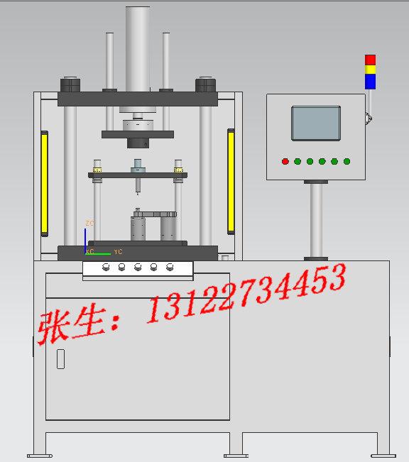 连杆衬套压装机,数控压装机