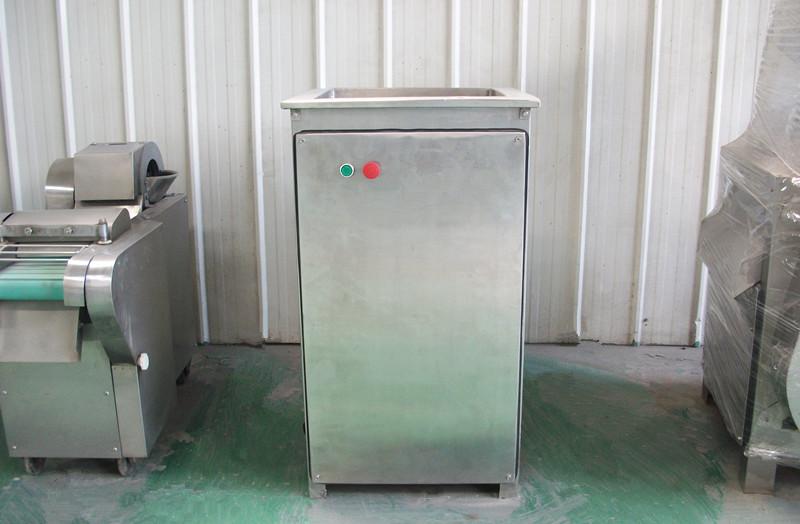 全泰100型不锈钢自动猪蹄分割机猪蹄劈半机