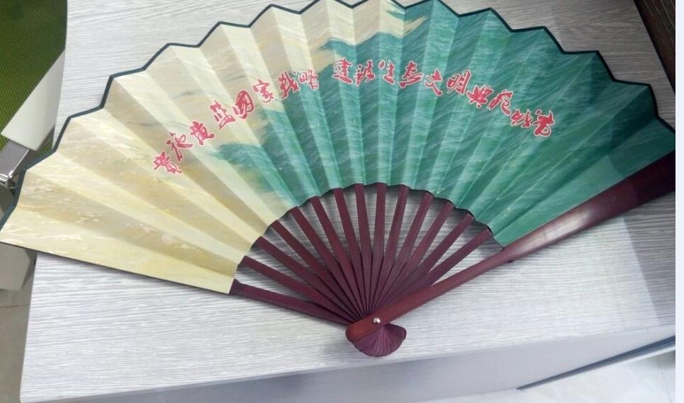 湖南定制工艺纸扇,长沙扇子订做厂家,折扇厂