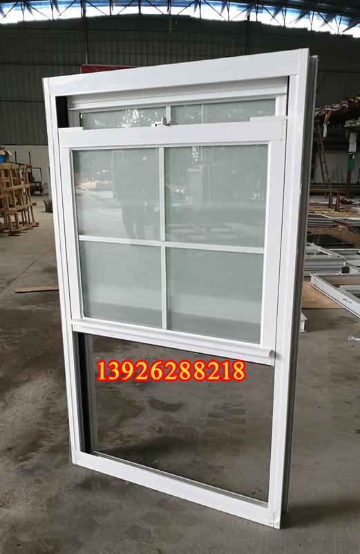 金钢狼提拉窗 85系列铝合金 上下推拉 任意悬停 进口配件 中空钢化玻璃