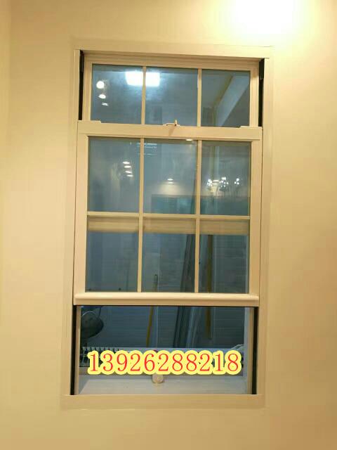 2017爆款广州市金钢狼美式提拉窗 80系列铝合金 任意悬停内倒窗 双层隔音玻璃