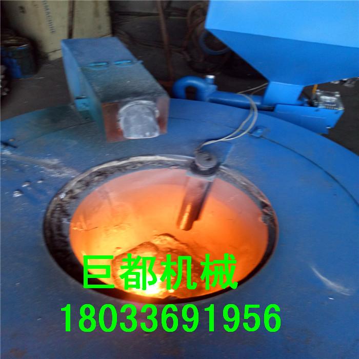 河北生物质颗粒熔铝炉厂家200kg