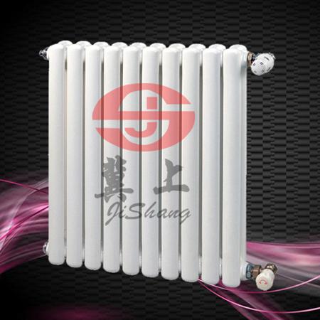 钢二柱暖气片图片 钢制二柱散热器批发价格-冀上