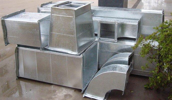 北京通风管道加工厂家不锈钢排烟管道排烟罩安装定做维修
