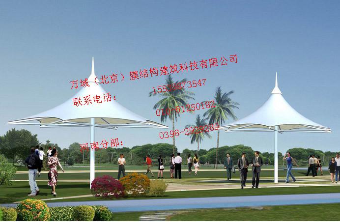 天津广场膜结构小品,景区公园游乐场售票亭膜结构遮阳棚