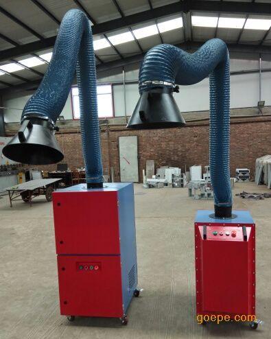 内蒙古呼和浩特移动式焊烟净化器 呼和浩特焊接烟尘净化器