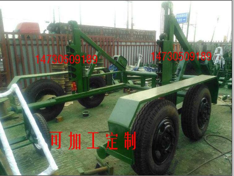 常年销售10吨大功率机械电缆拖车吨位
