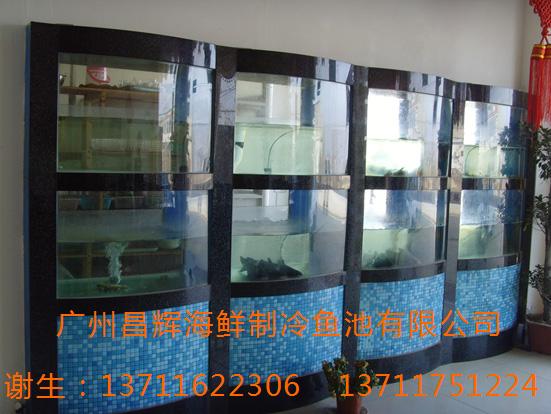 广州越秀大沙头海鲜池定做,广州越秀黄花岗酒店海鲜池定做