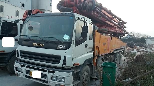 二手混凝土泵车供应