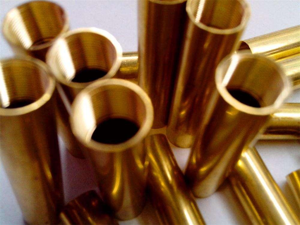 挤压铸造27*3.5 现货供应25*3*4黄铜管H62黄铜管