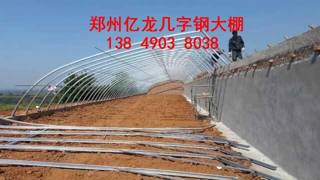 厂家直销日光温室大棚 保温大棚建设到郑州亿龙 价格低
