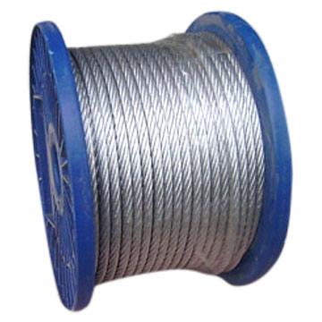 提供优质低价镀锌钢丝绳,电镀钢丝绳,热镀钢丝绳