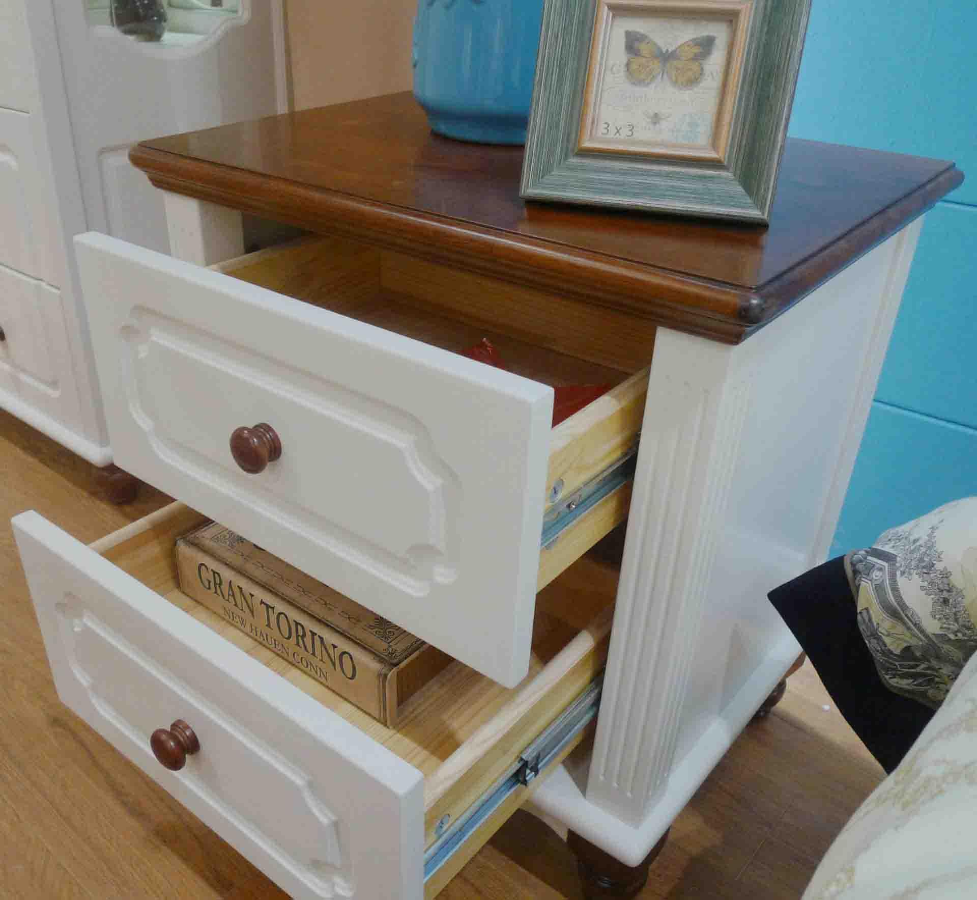 简约卧室实木收纳柜储物柜销售