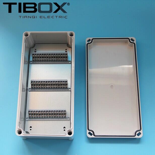 防水接线盒批发 塑料盒 端子盒 380*190*100mm 45P