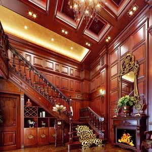 供甘肃张掖护墙板和武威实木护墙板制作