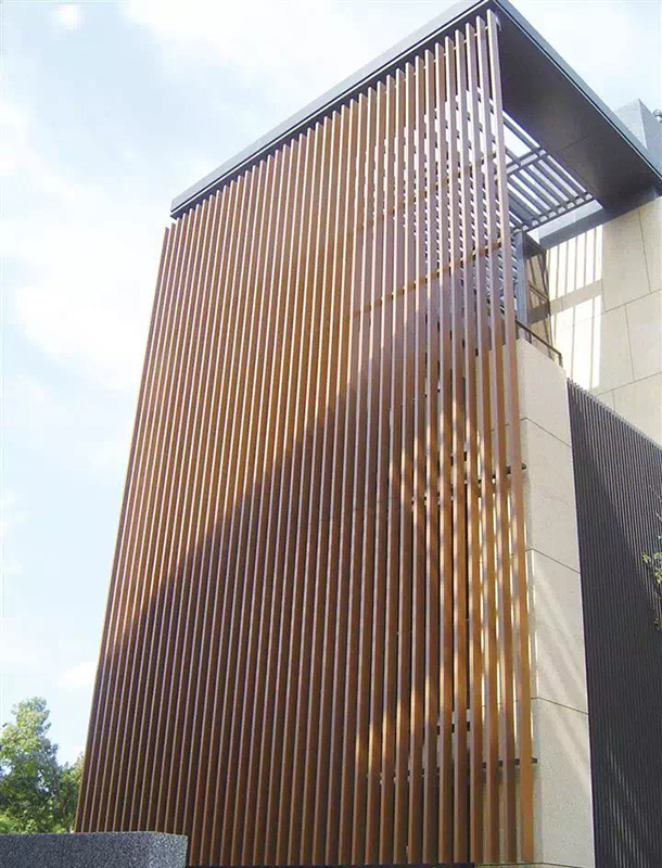 铝方通吊顶 木纹铝方通 弧形铝方通厂价直销