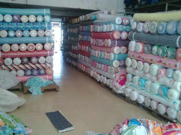 深圳长期回收库存布料