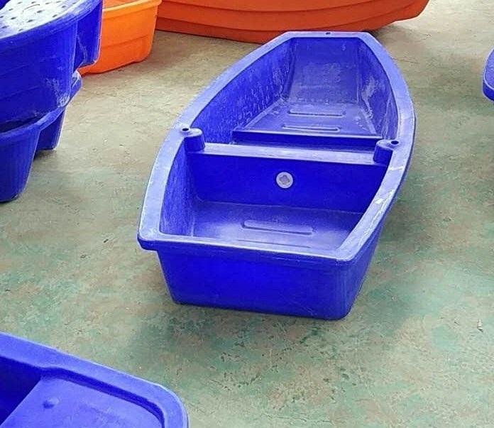 鄂州特价双层塑料船2米到6米塑料渔船养殖船观光船