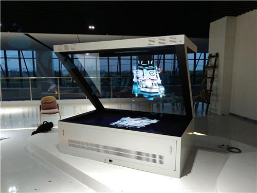 180度全息展示柜生产厂家 3D悬浮空中投影是怎么实现的 全息玻璃的工艺是什么