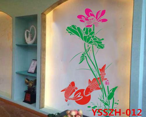 供应家装效果图墙上印花模具图片印花模具