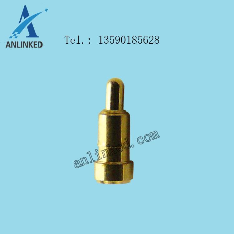 平底SMT型 -> pogo pin单pin弹簧针探针充电针标准贴片SMT型