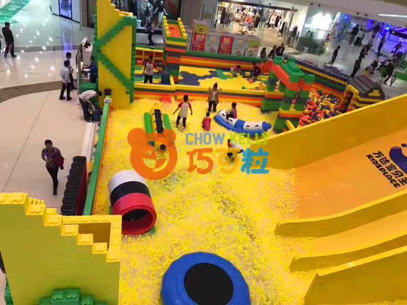 北京大型积木王国EPP积木儿童游乐设备