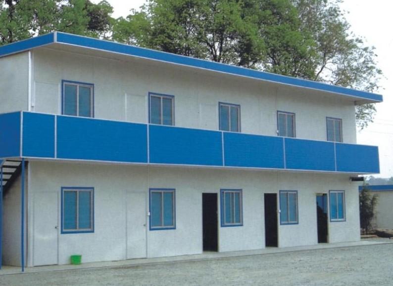 提供福鼎活动房 集装箱房 彩钢房结构图
