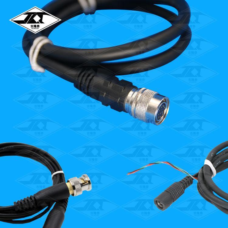 电源视频一体线|工业相机连接线|医用模具监视器信号线