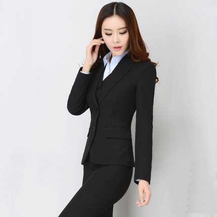 株洲职业装女装套装OL女士白领修身显瘦套装女修身工装厂家直销