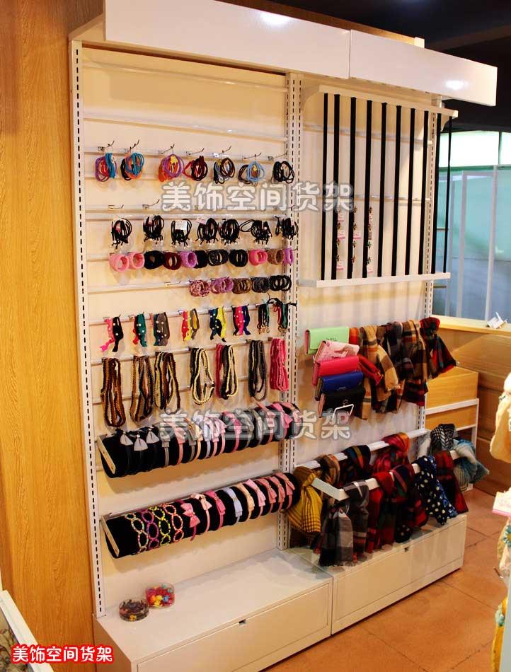 17款靠墙柜饰品店精品店货架简单拆装式小饰品展示架