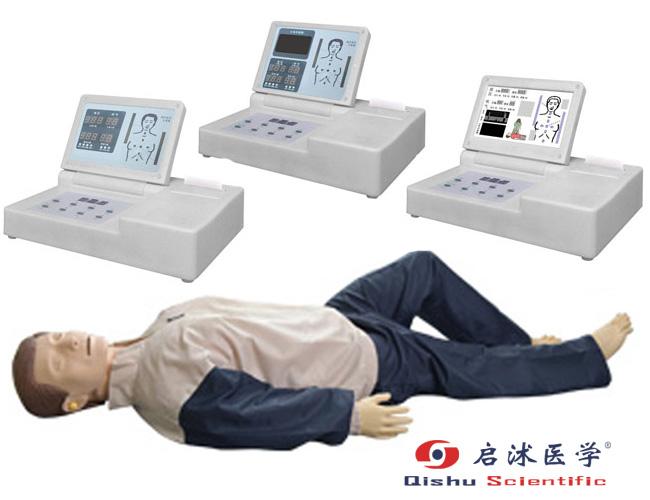 高级移动显示自动电脑心肺复苏模拟人