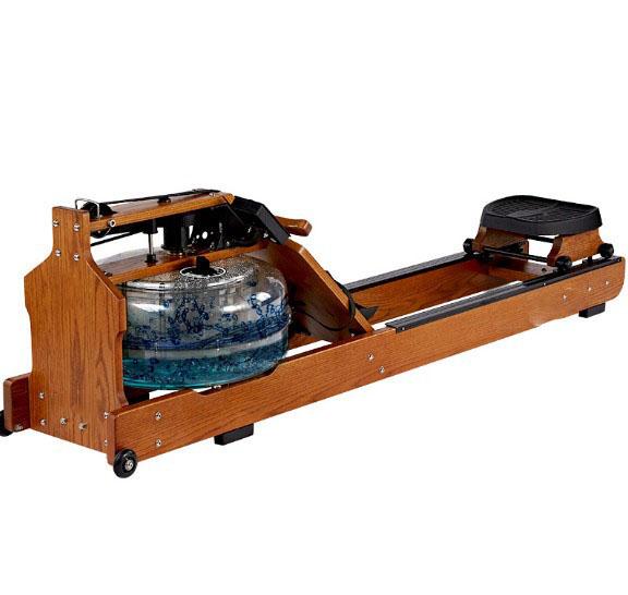 德钰-012水阻木质划船器-可调速-健身、康复首选