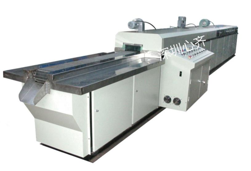 超声波清洗厂家-通过式光学玻璃清洗机
