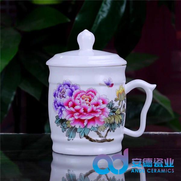 定制景德镇青花陶瓷茶杯